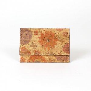 コルク製カードケース 【花・蝶柄】