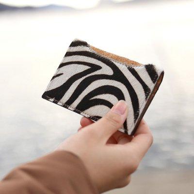 ハラコ風 カードケース
