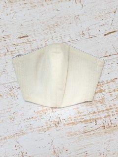 デニム立体COOLマスク (エクリュベージュ)サイズM