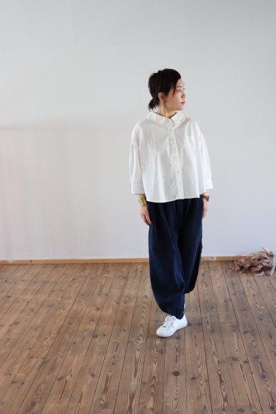 ワイドシャツ 白