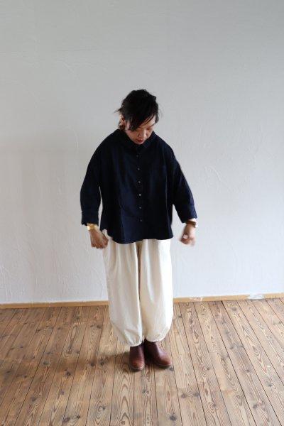 ワイドシャツ デニム