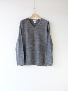 BETTER 『MID WEIGHT V NECK L/S T-SHIRT』