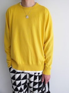 URU『COTTON LINEN / CREW NECK OVER KNIT』30%OFF<img class='new_mark_img2' src='https://img.shop-pro.jp/img/new/icons20.gif' style='border:none;display:inline;margin:0px;padding:0px;width:auto;' />