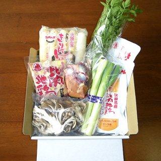 比内地鶏きりたんぽ鍋セット 5人前(野菜入り)
