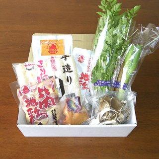 比内地鶏きりたんぽ鍋セット 3人前(野菜入り)