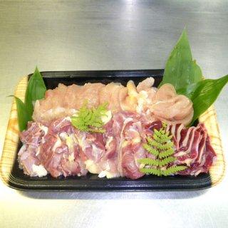 比内地鶏 鶏すき、鶏しゃぶ用 切肉500g