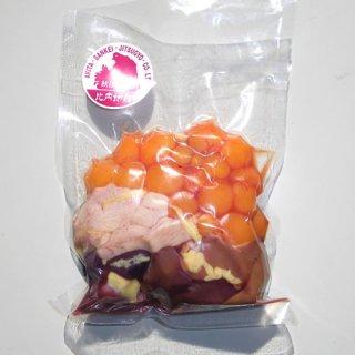 比内地鶏 モツ 500g 冷凍