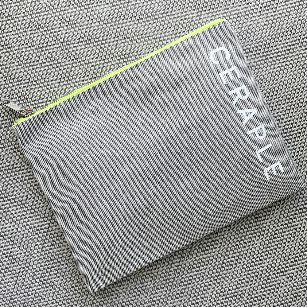SUSTAINABLE CLUTCH POUCH