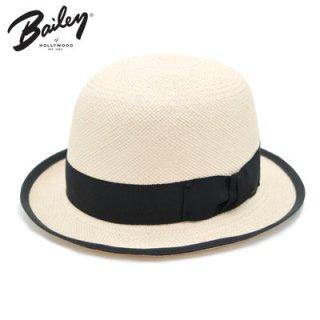 BAILEY ベイリー パナマ ダービーハット ボーラー 154004 オフホワイト L 57cm 帽子 メンズ レディース ハット 麦わら 天然 インポート アメリカ製 春夏