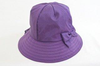 サンクレール レインハット 帽子 レディース 9007321 パープル 婦人 ハット 紫外線対策 UVケア 撥水加工 ウォーキング アウトドア ファッション ネット通販 オールシーズン
