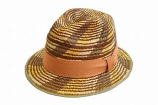 本パナマ パナマ メンズ ハット 紳士 1135023 オレンジ 麦わら ファッション オシャレ カジュアル 涼しい帽子 ネット通販 送料無料 ネット通販 春夏