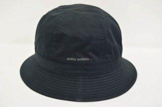 mila schon ミラショーン メトロ バケットハット YM536 ブラック 黒 メンズ  コットン 綿 アウトドア ファッション シンプル UVケア 日よけ ネット通販 日本製 オールシーズン