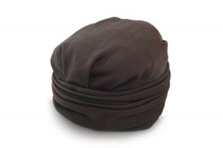 ターバン 32152 ブラウン 茶 帽子 レディース 婦人 ファッション オシャレ カジュアル フォーマル 結婚式 パーティー 同窓会 脱毛対策 抗がん剤治療 日本製 ネット通販 オールシーズン