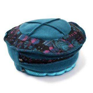 SALE セール ベレー帽 3631032 ブルー 帽子 レディース 婦人 ハット 防寒対策 暖かい 小さいサイズ Sサイズ ファッション ブルガリア製 インポート 送料無料 ネット通販 秋冬