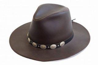 ウエスタンハット テンガロン 21266206 ブラウン 茶 帽子 ハット メンズ 紳士 H1H レザー アメリカ製 インポート ファッション ネット通販