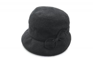 エリート ハット 35019 ブラック 黒 レディース 婦人 帽子 ファッション SALE セール お値打ち カジュアル 防寒対策 小さいサイズ 折りたためる 無料ラッピング ネット通販 秋冬