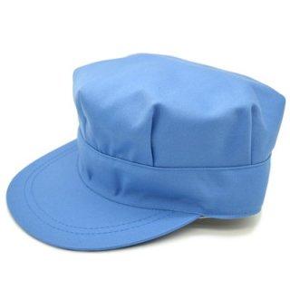 作業帽 キャップ TC八角帽 111413 H ブルー 青 B反 帽子 メンズ 紳士 ハット 外作業 お値打ち ワークキャップ 軽作業 工場 DIY アウトドア おしゃれ オールシーズン