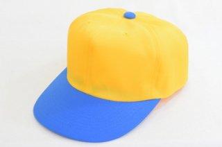 野球帽 950C-5 イエロー 黄 メンズ 紳士 キャップ UVケア 紫外線対策 2トーンカラー アウトドア スポーツ トレッキング ウォーキング 低価格 ネット通販 日本製 オールシーズン
