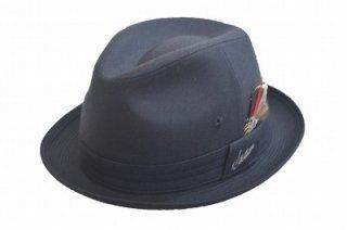 STETSON ステットソン チロル SE123 ブラック 黒 帽子 メンズ 紳士 ハット 中折 オシャレ 防寒 ウール シンプル 旅行 プレゼント 日本製 軽量 ネット通販 送料無料 秋冬
