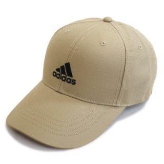 adidas アディダス キャップ 111405 ベージュ 帽子 メンズ レディース 男女兼用 スポーツ ジョギング シンプル おしゃれ カジュアル ネット通販 オールシーズン