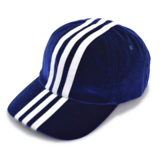 adidas アディダス キャップ 111711 ブルー 青 帽子 メンズ 紳士 レディース 婦人 男女兼用 ベロア 吸湿速乾 スポーティー カジュアル ネット通販 秋冬