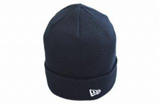 NEW ERA ニューエラ 11099927 ネイビー 紺 メンズ 紳士 レディース 婦人 男女兼用 ニット帽 カジュアル シンプル おしゃれ ロゴ入り ネット通販 オールシーズン