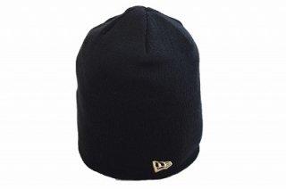 NEW ERA ニューエラ 11099947 ブラック 黒 メンズ 紳士 レディース 婦人 男女兼用 ニット帽 カジュアル シンプル おしゃれ ロゴ入り ネット通販 オールシーズン