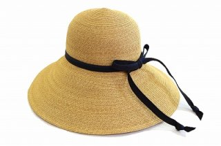 1st edition ペーパーハット 925420 ナチュラル 帽子 レディース 婦人 折りたたみ 紫外線遮蔽率98%以上 接触冷感 プレゼント 誕生日 母の日 ネット通販 送料無料 春夏