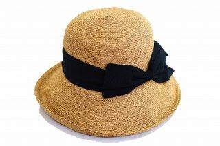 ペーパーハット 810861 ナチュラル 帽子 レディース 婦人 折りたたみ UVカット 紫外線対策 シンプル カジュアル プレゼント 母の日 旅行 ネット通販 送料無料 春夏