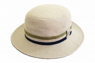 DAKS ダックス バケットハット D1608 ナチュラル 帽子 メンズ 紳士 ハット サハリハット シンプル レジャー サイズ調節 日本製 ネット通販 送料無料 春夏