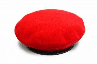 KANGOL カンゴール ベレー帽 169005 レッド 赤 メンズ 紳士 WOOL MONTY 大きいサイズ ウール 防寒対策 暖かい ファッション オシャレ カジュアル 和装 ネット通販 秋冬
