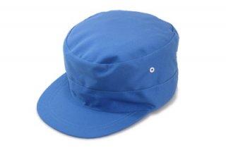 作業帽 キャップ 111950 B ブルー 青 後ろハトメ メンズ 紳士 大きいサイズ 帽子 外作業 お値打ち ワークキャップ 軽作業 工場 カジュアル ネット通販 オールシーズン