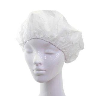 1箱100枚入り 不織布衛生帽 111950 MK161 ホワイト 白 メンズ レディース 男女兼用 帯電 無塵 紳士 婦人 衛生対策 衛生キャップ 帽子 ハット ネット通販 オールシーズン