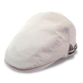 Trophy トロフィー ハンチング 6104037 ベージュ メンズ 紳士 帽子 ハット 麻 メッシュ 洗える 涼しい 琵琶湖の葦 紫外線 サイズ調節可 父の日 ネット通販 日本製 春夏