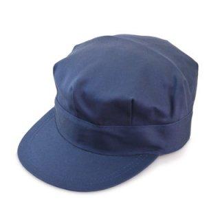 作業帽 キャップ 綿八角帽 111413 M ネイビー 紺 帽子 メンズ 紳士 大きいサイズ M L LL ハット 外作業 お値打ち ワークキャップ 軽作業 オールシーズン