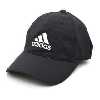 adidas アディダス キッズキャップ ブラック 黒 キッズ 子供 こども フリー 54-57cm 小さいサイズ 色あせしにくい 洗濯機OK 洗える 吸汗速乾 ネット通販 春夏 112-211205