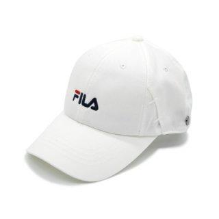 FILA フィラ キャップ 帽子 ホワイト 白 メンズ レディース 男女兼用 マスクを引っ掛けられる57-59cm 吸汗速乾 洗濯機で洗える 春夏 111-113003