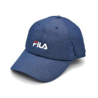 FILA フィラ キャップ 帽子 ブルー 青 メンズ レディース 男女兼用 マスクを引っ掛けられる57-59cm 吸汗速乾 洗濯機で洗える 春夏 111-113003