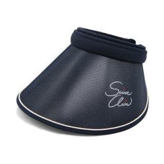 SAINT CLAIR サンクレール サンバイザー クリップバイザー ネイビー 紺 帽子 レディース 婦人 UVカット  カジュアル ゴルフ オールシーズン 2264007 3264011