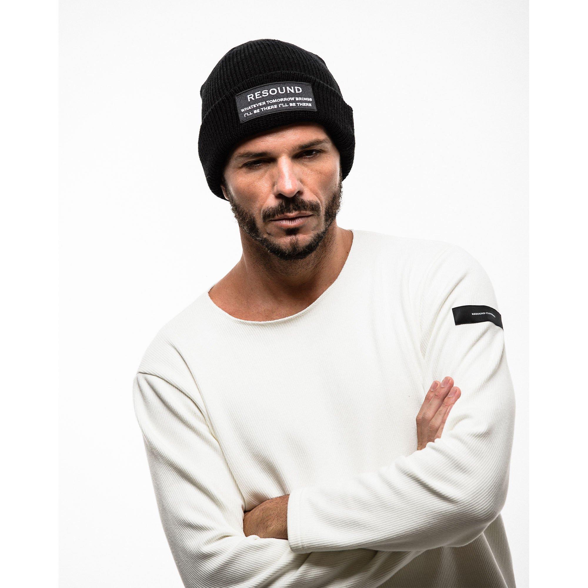 WOOL knit cap Wappen BK