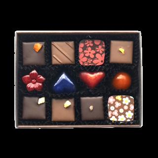 チョコレート12個