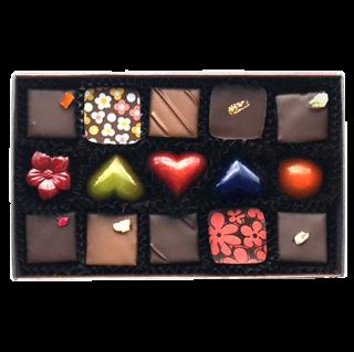 チョコレート15個