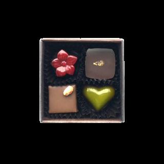 チョコレート4個