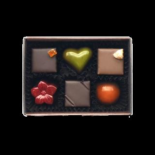 チョコレート6個
