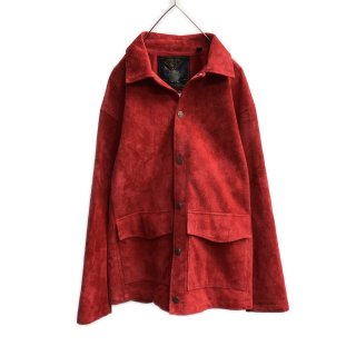 MOON AGE DEVILMENT×EGO TRIPPING Cow Suede Hunting Jacket