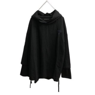 MOON AGE DEVILMENT×EGO TRIPPING Layered Hoodie & Cut/Sew