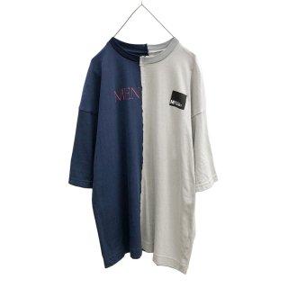 切替プリントS/S Tシャツ