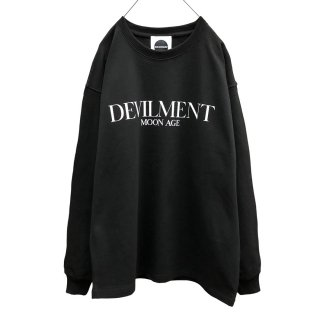 F/PRINT OVER L/S T-shirt