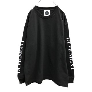 S/PRINT OVER L/S T-shirt
