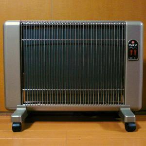 遠赤外線輻射式暖房機//キャスター付//美品!